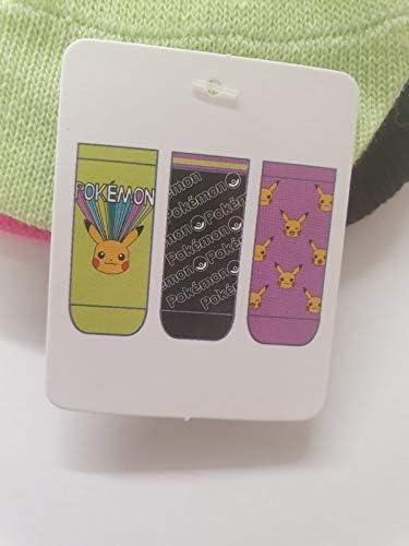 Gr/ö/ße 37-42 Pikachu f/ür Damen Primark Schuheinlagen im Pokemon-Design