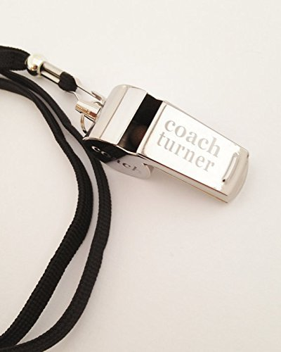 Personalized Coach Whistle (Personalized Whistle)