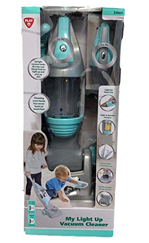 PlayGo My Light Up Vacuum Cleaner 2019 - Mint/Gray in USA