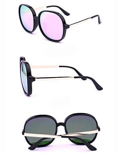 Glasses Polarisées Frame de Couleur Lunettes Drive Ms D de Big Soleil Soleil Lunettes Fashion A qgpxXz8d