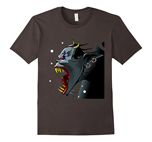 Top 5 Last Minute Halloween Costumes (Mens Funny Scary Monster Costume Halloween Shirt for Kids Adults Large Asphalt)