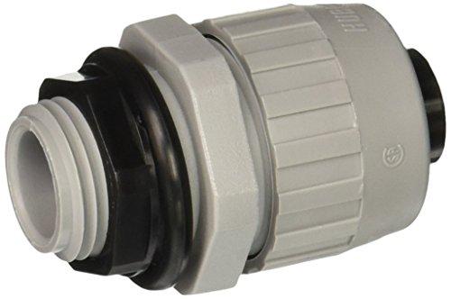 Nylon Connector Straight (Hubbell-Raco 4722-8 Straight Type B Flex Liquid Tight Nylon Connector, 1/2-Inch Trade Size)