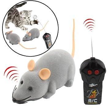 """RC Radio Control Juguete de """"Ratón ideal para jugar con los gatos o los"""