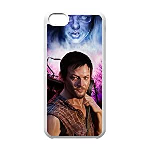 Unique Design Cases Ipod Touch 6 Cell Phone Case White Daryl Dixon in The Walking Dead Bbbqp Printed Cover Protector