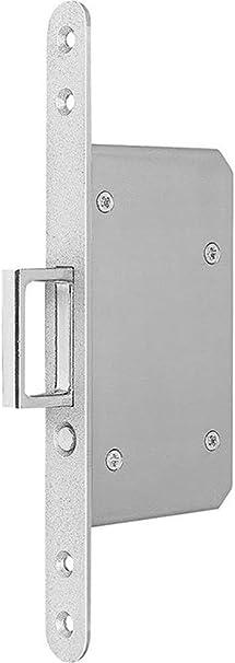 BKS Enchufe para puerta corredera STA silver rd 20/55mm con salto ...