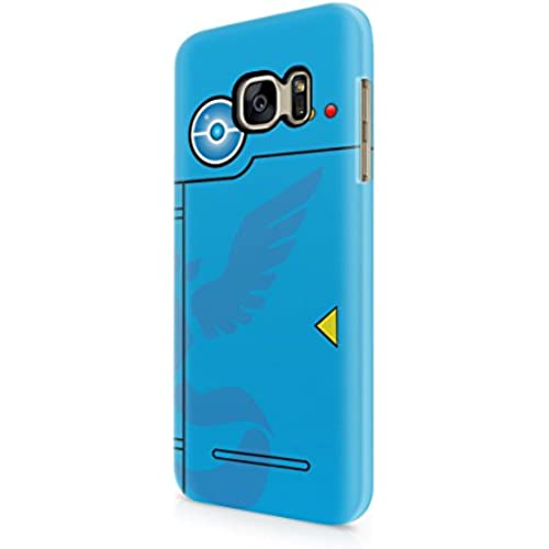 Pokemon GO Team Mystic Themed Pokedex Hard Plastic Snap-On Case Skin Cover For Samsung Galaxy S7 Sales