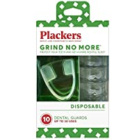 10 Count Plackers Grind No More Dental Night Guard