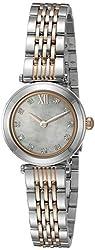 Bulova Women's Quartz Stainless Steel Dress Watch (Model: 98P156)