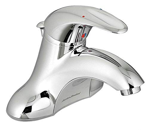 American Standard Lead Free Cast Brass Reliant 3 Centerset Bathroom Faucet, Indexed Lever Handle Type, No. of Handles: