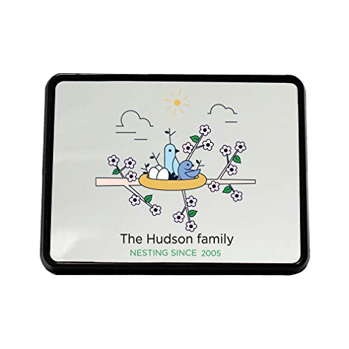 Style In Print Personalized Custom Text Home Family Bird Nesting Plastic Truck Hitch Cover ()
