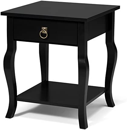 Kate and Laurel Lillian Wood Side Table