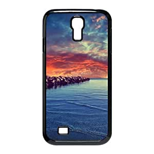 Diy Beautiful Landscapes Nature Phone Case for samsung galaxy s4 Black Shell Phone JFLIFE(TM) [Pattern-2]