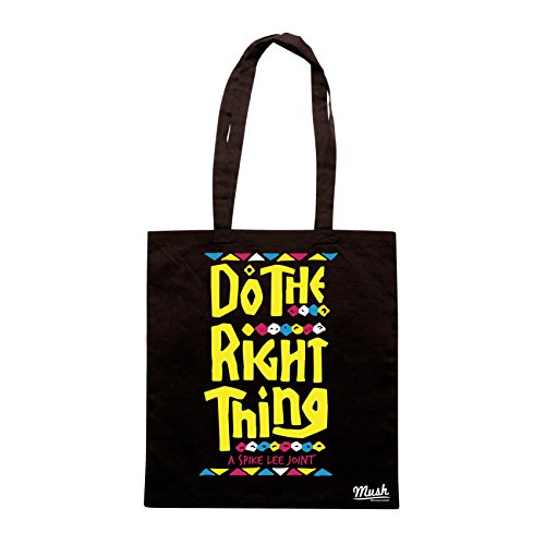 Borsa SPIKE LEE - DO THE RIGHT THING - FA LA COSA GIUSTA - Nera - FILM by Mush Dress Your Style