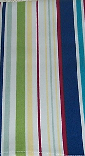 Longaberger Spring Basket Sunny Day Stripe Fabric Liner Drop In Style New In Bag