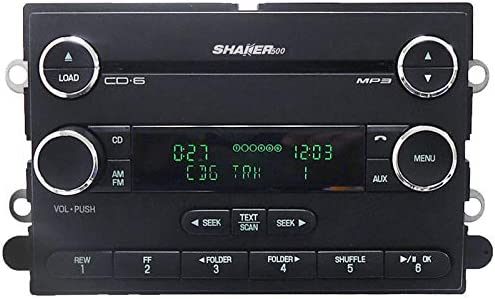 Amazon.com: 2008-2009 Ford Mustang Shaker 500 Satellite Radio Stereo 6 Disc  Changer CD Player: Home Audio & Theater   Ford Shaker 500 Factory Radio Wiring      Amazon.com