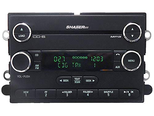 - 2008-2009 Ford Mustang Shaker 500 Satellite Radio Stereo 6 Disc Changer CD Player