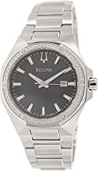 Bulova Diamonds Men's Quartz Watch 96E111