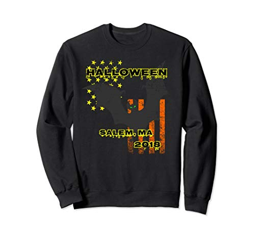 Salem Massachusetts Halloween Sweatshirt