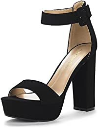 Women's Hi-Lo High Heel Platform Pump Sandals