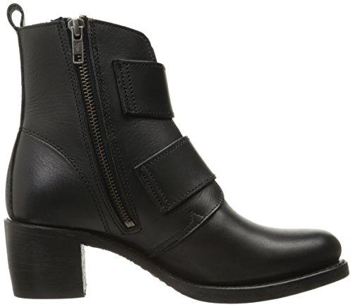 Black Double Buckle Boot Frye 6 Us Women's Sabrina M OEqUnUX6