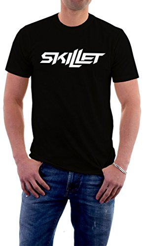 Skillet Band Logo Comatose Awake Alternative Men's T-Shirt XX-Large (Alternative Band T-shirts)