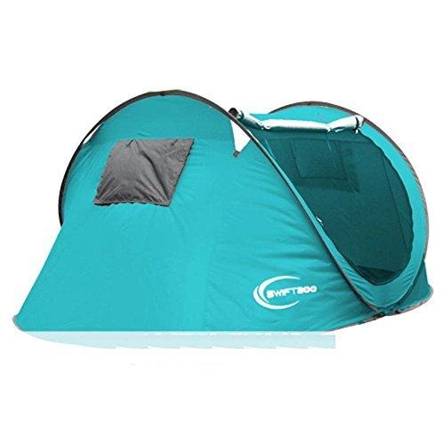 PIGE Automatische Zelte Outdoor 3-4 Personen Familienpark Freizeit Camping Familienzelte