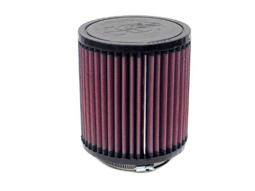 Top K/&N Engineering Flange ID; 5 in Base; 4.5 in 73 mm Height; 4.5 in K/&N RU-3710 Universal Clamp-On Air Filter: Round Straight; 2.875 in 127 mm 114 mm 114 mm
