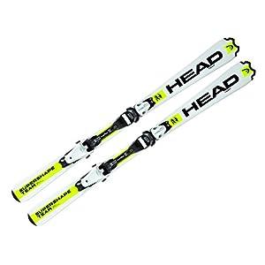 2016 Head Supershape Team LR Junior Skis with LRX 7.5 bindings