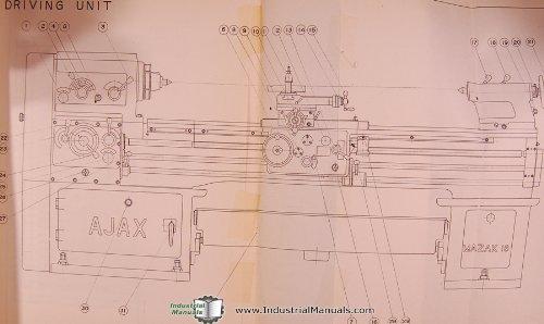 mazak 18 hercules ajax lathe operations and parts manual mazak rh amazon com