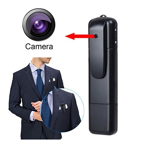 Corprit Full HD 1080P Mini Pocket Video Recorder Pen Camera Portable Tiny Hidden Video Voice Camcorder DV HDMI Output (Pocket Spy Camera)