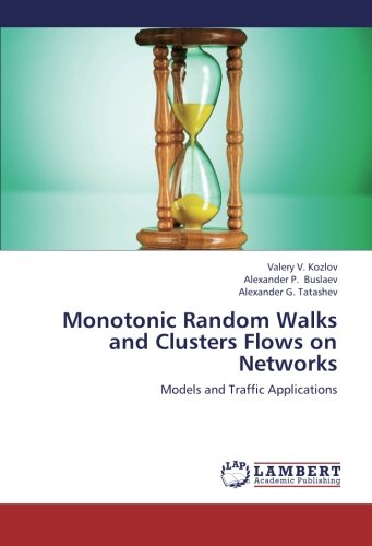Monotonic Random Walks and Clusters Flows on Networks: Models and Traffic Applications