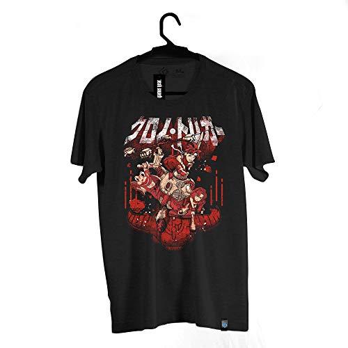 Camiseta Chrono Team, BRKsEdu, Adulto Unissex, Preto, G