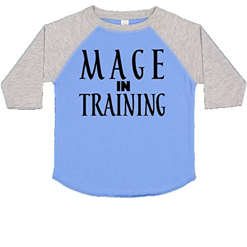 (inktastic Mage in Training Toddler T-Shirt 2T Blue and Heather)