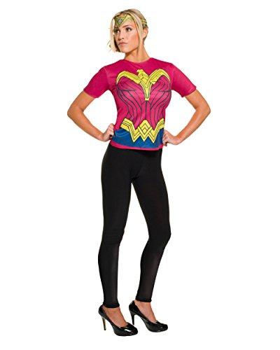 [Rubie's Women's Batman v Superman: Dawn of Justice Wonder Woman Costume Top] (Top Five Halloween Costumes)