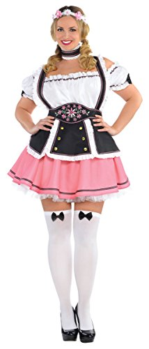 Womens Oktobermiss Beer Maid Costume Size X Large (Bavarian Costume Female)