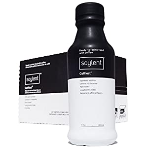 Soylent Coffiest Ready to Drink Breakfast, 14 oz Bottles, 12 Pack