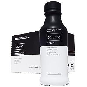 Soylent Coffiest Ready to Drink Breakfast, 14 oz Bottles, 12 Pack