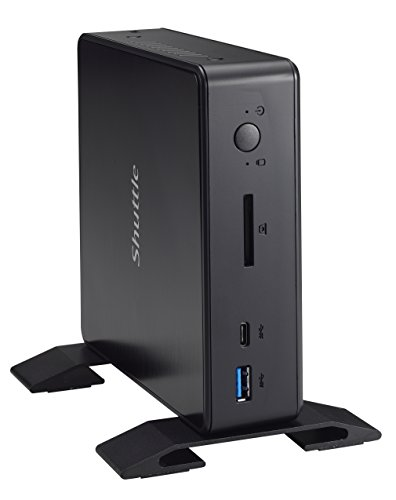 2U Mini Barebone PC Embedded Intel Kabylake-U Celeron 3855U CPU, Support 4K HD Video, No Ram No HDD/SSD No OS ()