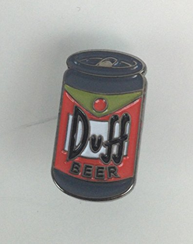 DUFF BEER Can from The SIMPSONS TV Series - UK Imported Enamel Pin