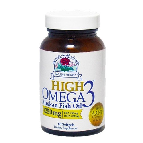 Ayush Herbs Omega 3 Herbal Supplement product image