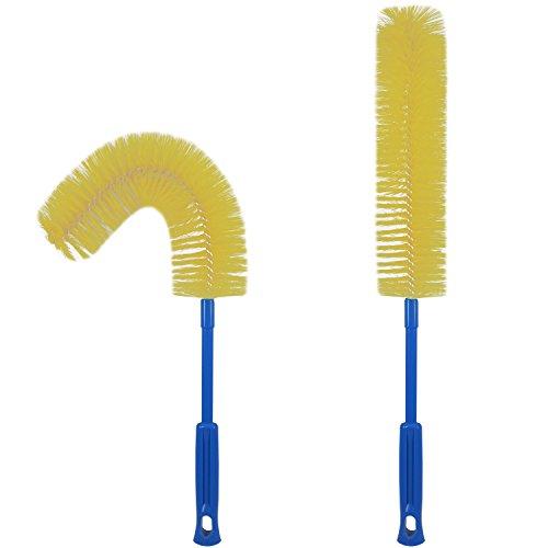 Long Bottle Brush Cleaner, Flexible Bottle Scourer (Vases Thin Glass Long)