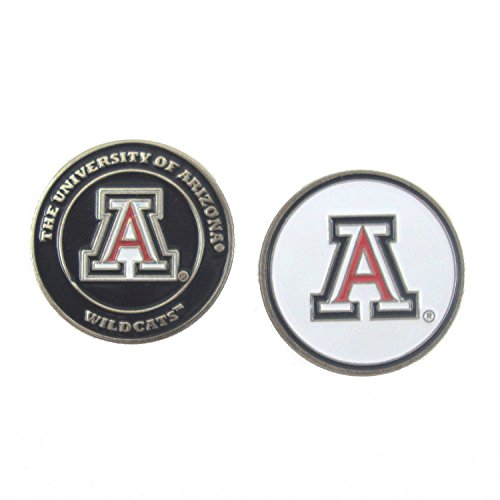Arizona Wildcats Double-Sided UA Golf Ball Marker