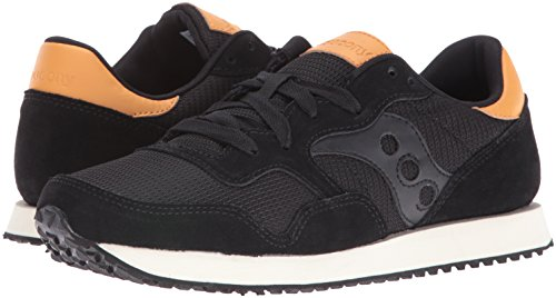 Saucony Dxn Trainer, Color: Blk, Size: 38.5 EU (6.5 US / 5.5 UK)