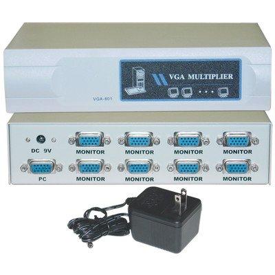 VGAビデオスプリッタ、1 pc to 8モニタ、400 MHz ( 3パック) by NETCNA   B072R47VB6