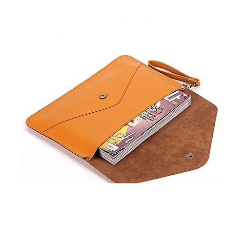 from usa natamo women envelope style waterproof pu leather tablets sleeve case briefcase. Black Bedroom Furniture Sets. Home Design Ideas