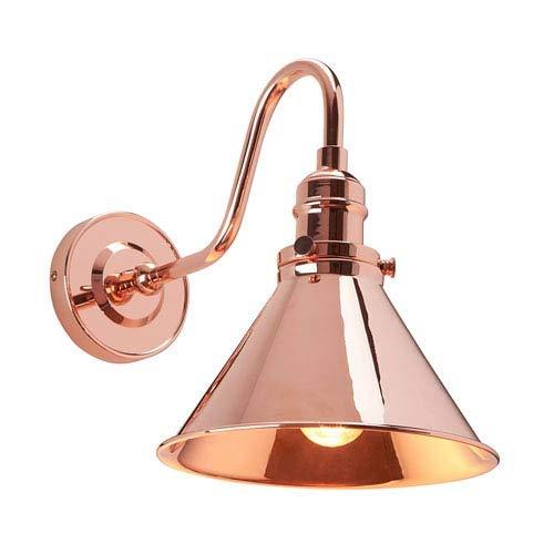 (Elstead Lighting EL/PV1 CPR Provence Sconce Polished Copper )