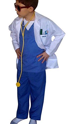 Expensive Kids Costumes (Children Doctor Dentist Surgeon REG fits 5-8)