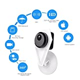 Boddenly 1.3 MP 720P HD WiFi IP Camera Indoor/Outdoor Security Camera,Day/Night Wireless Video Monitoring For Sale