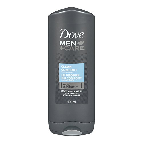 Dove Men+Care Clean Comfort Micro Moisture Body + Facewash 400ml