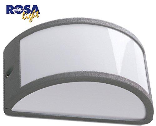 Plafoniera Da Esterno Grigia : Plafoniera in alluminio pressofuso per esterno ip